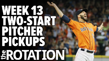 Week 13 Two-Start Pitcher Pickups | The Rotation