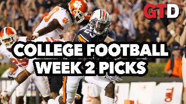 Week 2 College Football Picks and Predictions w/ Joe Lisi | Game Time Decisions