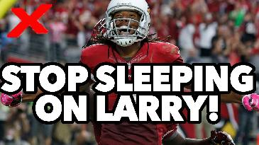 2017 Fantasy Football: Stop Ignoring Larry Fitzgerald in Your Drafts! | RotoExperts