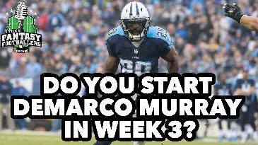 2017 Fantasy Football: What To Do With DeMarco Murray | Fantasy Footballers