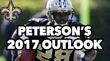 2017 Fantasy Football: Adrian Peterson's Fantasy Outlook w/ Will Carroll