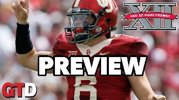 2017 College Football: Big Twelve Conference Preview w/ Marc Lawrence | Game Time Decisions