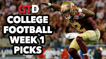 2017 College Football: Week 1 Picks and Analysis w/ Marc Lawrence | Game Time Decisions