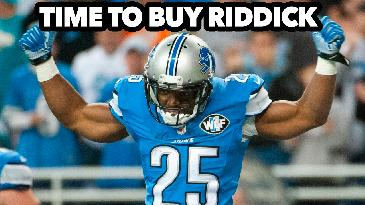 Is it time to buy Theo Riddick?   2017 Fantasy Football