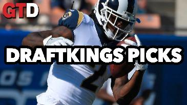 2017 Fantasy Football: Week 4 DraftKings Picks and Preview   Game Time Decisions