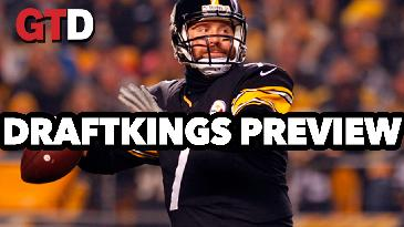 2017 Fantasy Football: Week 6 DraftKings Picks and Preview w/ Tony Cincotta   Game Time Decisions