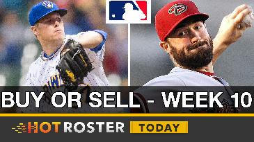 Week 10 Buy or Sell Candidates | HotRoster Today