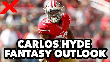 2017 Fantasy Football: How In Are Fantasy Owners On Carlos Hyde? | RotoExperts