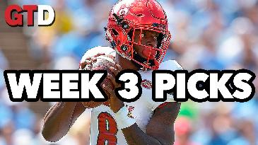 2017 College Football: Week 3 Picks w/ Marc Lawrence | Game Time Decisions