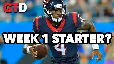 DeShaun Watson Should Be The Starter! | Rage of The Day