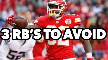 2017 Fantasy Football: 3 RB's To Avoid in Your Draft!