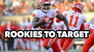 2017 Fantasy Football: Rookies To Target on Draft Day