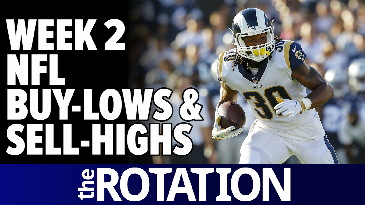 2017 Fantasy Football: Week 2 Buy-Lows and Sell-Highs | The Rotation