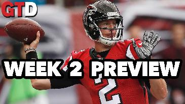Week 3 College Football and NFL Week 2 Preview | Game Time Decisions