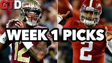 2017 College Football: Week 1 picks w/ Dave Malinsky | Game Time Decisions