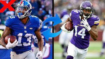 2017 Fantasy Football: Would You Trade Odell Beckham Jr for Stefon Diggs? | RotoExperts