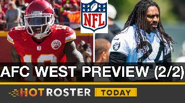 2017 Fantasy Football: Hill's WR1 Status, Chiefs' RBBC, Lynch's Value & More! | HotRoster Today