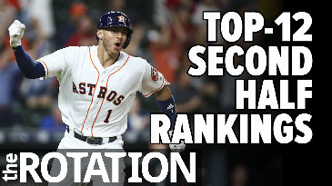 Top-12 Second Half Rankings | The Rotation