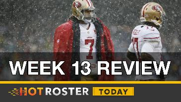 2016 Fantasy Football: Week 13 Winners and Losers | HotRoster Today