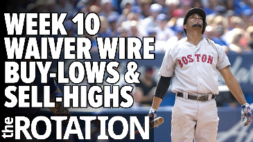 Week 10 Waiver Wire Buy-Lows and Sell-Highs | The Rotation