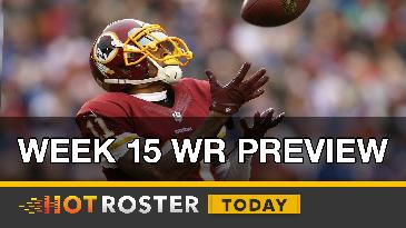 2016 Fantasy Football: Week 15 WR Preview | HotRoster Today