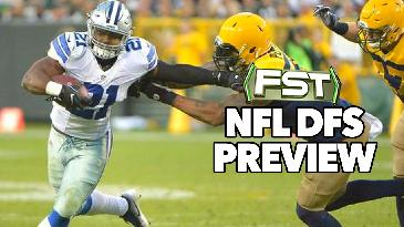 2017 Fantasy Football: Divisional Round DFS Preview w/ Nick Giffen | FST