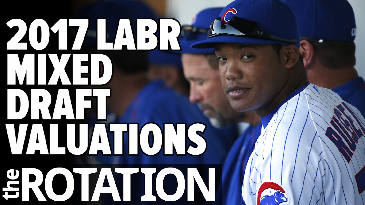 2017 LABR Mixed Draft Valuations w/ Paul Sporer of FanGraphs | The Rotation