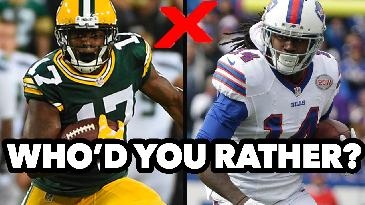 2017 Fantasy Football: Who'd You Rather? feat. Contract Year Players | RotoExperts