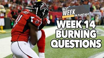 2016 Fantasy Football: Week 14 Questions & Answers | Next Week in Fantasy