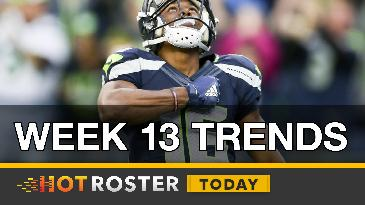 2016 Fantasy Football: Trending Players | HotRoster Today