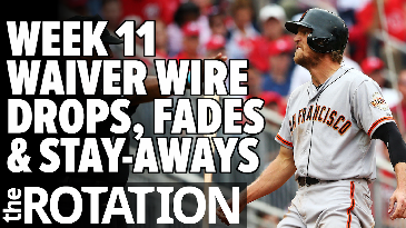 Week 11 Waiver Wire Drops, Fades and Stay-Aways | The Rotation