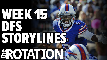2016 Fantasy Football: Week 15 DFS Preview | The Rotation