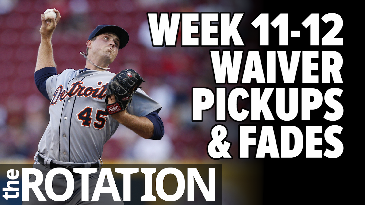 Week 11-12 Waiver Wire Pickups & Fades | The Rotation