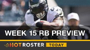 2016 Fantasy Football: Week 15 RB Preview | HotRoster Today