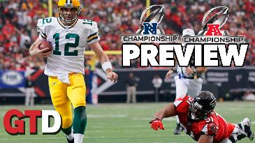 NFL Championship Weekend Preview w/ Steve Merril | Game time Decisions