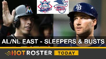 2017 Fantasy Baseball: AL/NL East Sleepers & Busts | HotRoster Today