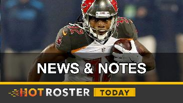 2016 Fantasy Football: Week 14 News and Notes | HotRoster Today