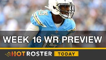2016 Fantasy Football: Week 16 WR Preview | HotRoster Today