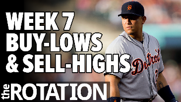 Week 7 Buy-Lows and Sell-Highs | The Rotation