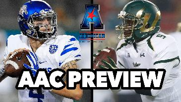 2017 College Football: AAC Conference Preview w/ Marc Lawrence | Game Time Decisions