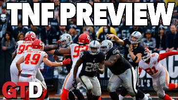 Thursday Night Football: Raiders @ Chiefs Preview w/ Warren Sharp | Game Time Decisions