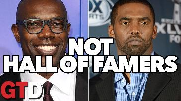 Randy Moss and Terrell Owens Don't Belong in The Hall of Fame | Rage of The Day