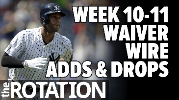 Week 10 - 11 Waiver Wire Analysis | The Rotation