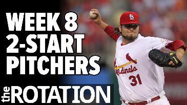Week 8 2-Start Pitchers | The Rotation