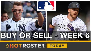 2017 Fantasy Baseball: Buy-Low, Sell-High Candidates - Week 6 | HotRoster Today