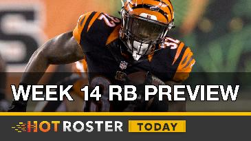 2016 Fantasy Football: Week 14 RB Preview | HotRoster Today