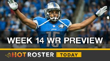2016 Fantasy Football: Week 14 WR Preview | HotRoster Today