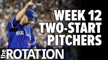Week 12 Two-Start Pitchers | The Rotation