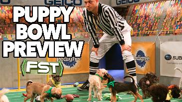 2017 Puppy Bowl Preview w/ Referee Dan Schachner | FNTSY Sports Today